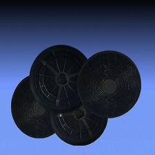 4 Aktivkohlefilter für Dunstabzugshaube Respekta CH 22035 IX , CH 22098 IX