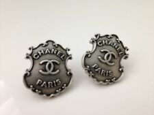 CHANEL Paris Dalls Shield Earrings - New STUNNING