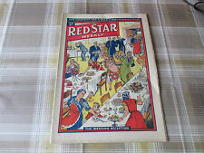 RED Star Weekly 04/09/1954 WOMANS Magazine the Wedding Reception Cover