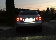 Leds rings Skyline style, red and yellow, for VW JETTA MK5