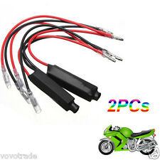 HOT SALE 2PCS Motorcycle Turn Signal Indicator LED Load Resistor Flash Fix Error
