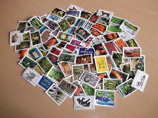 UNE COLLECTION  DE 100 TIMBRES  POSTE DE FRANCE DIFFERENTS