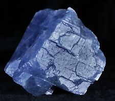 ICE BLUE CALCITE CRYSTAL ROUGH MINERAL SPECIMEN FROM MEXICO 2.7 OUNCES