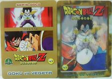 "Dragon Ball Z  ""Goku Vs Vegeta"" Giochi Preziosi serie GOLD n° 47 lenticolare"