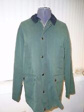 Urban Outfitters BDG Waxed Canvas Hunting Jacket Green Milleran Fabric S/Small