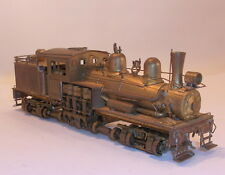 HO BRASS PFM/UNITED  GEARED LOGGING CLASS B-2 TWO TRUCK SHAY  UNPAINTED