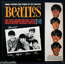 THE BEATLES-SONGS, PICTURES AND STORIES Album-Flip Top Cover-VEE JAY #VJLP 1062