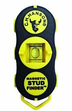 CH Hanson Magnetic Stud Finder 2 Way Bubble Level Plumb Function 03040 New C H