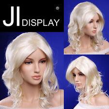 JI DISPLAY Perücke Wig W04K  blond Neu Schaufensterpuppen Wigs Haare Perücken