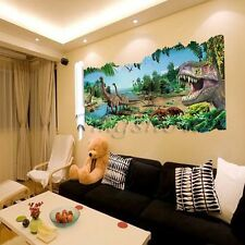 Removable Wall Stickers Dinosaurs Baby Nursery Kids Room Decor Decals Mural DIY
