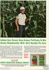 1964 Print Ad of Armour Plant Food & Fertilizer Duling Farm Spencer IN