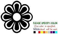 "Daisy Flower Funny Vinyl Decal Sticker Car Window laptop tablet truck netbook 6"""