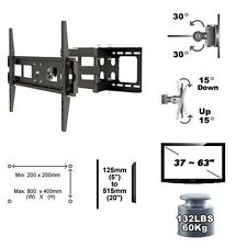 "Full Motion Flat TV Wall Mount 37""-70"" Tilt Swivel VESA 800 x 400 LPA13-484"