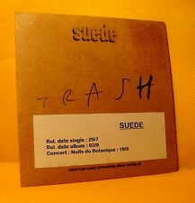 Cardsleeve single CD Suede Trash 1TR 1996 Brit Pop, Indie Rock PROMO !