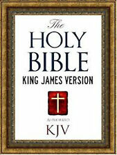 The Holy Bible King James Version Audio DVD PDF MSword & 700+ Pictures