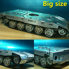 Big Independent Suspension Damping Obstacle Caterpillar Track Robot Tank Chassis