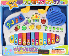 Blue Music Educational Organ 4 Musical Effect Instruments with Recorder Kids Toy