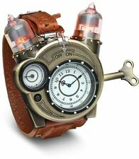Tesla Steampunk Style Retro Chronometer Watch Collectors Tin Cosplay Xmas Gift