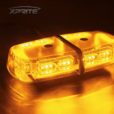 36 LED 12V Oval Light Bar Roof Top Emergency Hazard Flash Strobe Yellow Amber