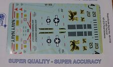 Microscale Decal 1:48 Scale #48-1118 / F-14D Tomcat, VF-213 Final Scheme