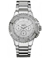 NEW Mens Marc Ecko UNLTD Silver Diamond Watch Metal Stainless Steel$200 E20072G1