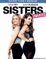 SISTERS (Blu-ray/DVD, Unrated) Tina Fey, Amy Poehler