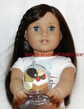 Mini  Cake Stand +French Pastry Doll Food For 18 in American Girl Doll Grace D