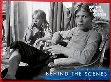 DAVID BOWIE - The Man Who Fell To Earth - Card #50 - Behind The Scenes
