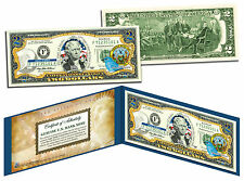 IDAHO Statehood $2 Two-Dollar Colorized US Bill ID State *Genuine Legal Tender*