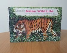 BROOKE BOND PICTURE CARDS ALBUM-ASIAN WILD LIFE-MAJORITY COMPLETE(3 MISSING)