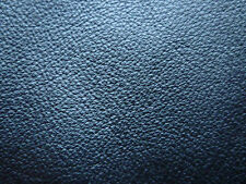 "Black Soft Fine Grain Real Leather Piece 4"" x 4"""
