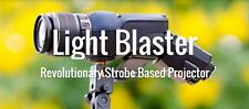 NEW Light Blaster Camera & Canon EF Lens Flash strobe based portable Projector
