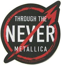 "METALLICA PATCH / AUFNÄHER # 43 ""THROUGH THE NEVER"""