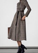 cappotto donna BORME Vintage Belted Maxi Coat Taglia L