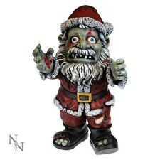 ZOMBIE CLAUSE FATHER CHRISTMAS GOTHIC STYLE STATUE ORNAMENT FIGUREINE MODEL NEW