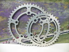 SR Apex-5 118 BCD 49 and 40  chainrings for road , NOS