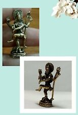 SHIVA GOD NATARAJA STATUE DANCES MEDITATION HINDU DEITY OF CREATION RARE HOLY