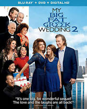MY BIG FAT GREEK WEDDING 2 (Blu-ray/DVD, 2016, Includes Digital Copy) NEW