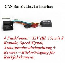 Opel Meriva, Signum RTA 032.525-0 CAN Bus Adapter Auto Radio Adapter Canbus