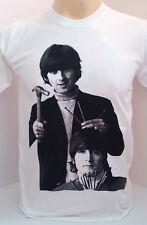 THE BEATLES John Lennon&George Harrison men's t shirt size M