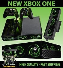 XBOX ONE CONSOLA PEGATINA H R GIGER ALIEN OSCURO PIEL & 2 PAD SKINS ACCESORIOS