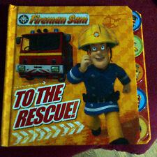 Fireman Sam: To the Rescue! Tabbed Board Book,