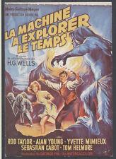 87-1709 AFFICHE SUR CARTE - LA MACHINE A EXPLORER LE TEMPS