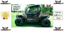 Tusk Aluminum Suicide Doors and Nets Fits: Polaris RANGER RZR XP 900 2011–2014