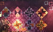 "Night and Day Quilt Kit-84"" X 101""-Starr Design Hand Dyed Fabrics-FREE SHIPPING"