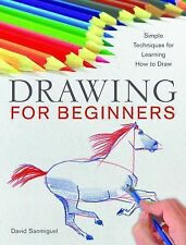 Drawing for Beginners : Simple Techniques for Learning How to Draw by David...