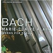 . Bach: Copmlete Organ Works [1990s digital], Marie-Claire Alain