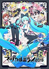 Hatsune Miku Magical Mirai 2016 Blu-ray Limited Edition Live Music Japan New