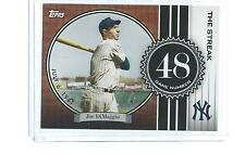 2007 TOPPS BASEBALL JOE DIMAGGIO THE STREAK #JD48