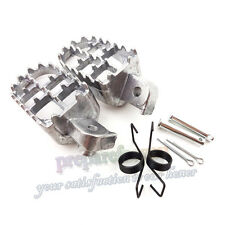 Aluminium Foot Pegs Footrest Footpegs For Pit Dirt Bike Yamaha TW200 PW50 PW80